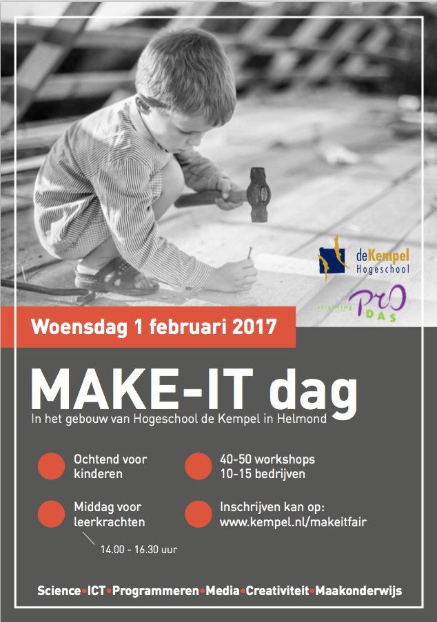 Make It dag op 1 februari